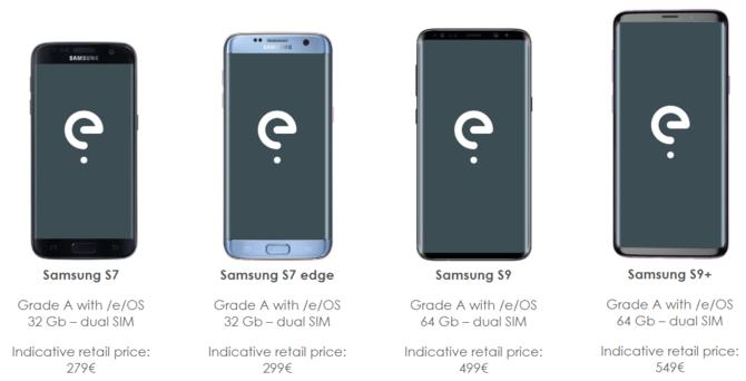 Odnowione, tańsze smartfony z systemem wolnym od Google'a [1]
