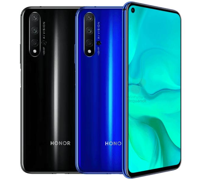 Honor 20 - poznaliśmy wygląd i specyfikację smartfona [1]