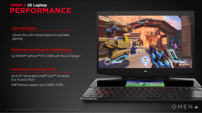 OMEN by HP 2S - notebook z dwoma ekranami i RTX 2080 Max-Q [4]
