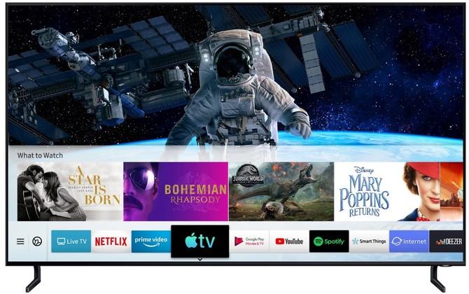 Wiemy, które telewizory Samsung z 2018 roku dostaną Apple TV [2]