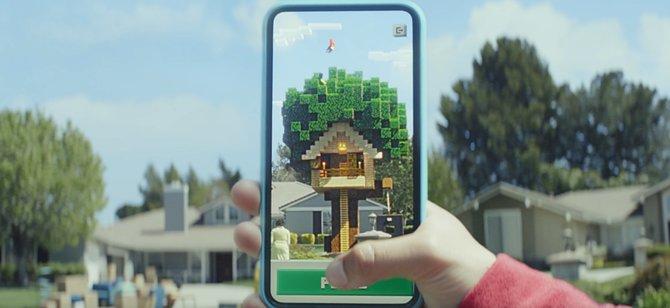 Minecraft Earth krzyżuje budowanie światów z Pokemon Go w AR [2]