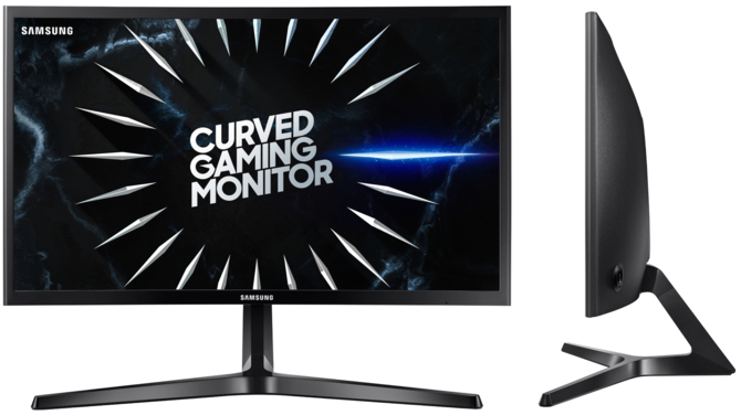 Samsung LC24RG50 curved monitor - 144 Hz at a good price [1]