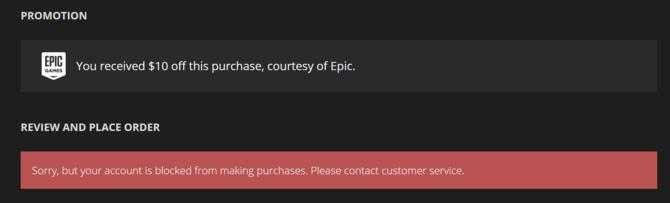 Kupujesz dużo gier na Epic Store? Firma może zablokować Ci konto [2]