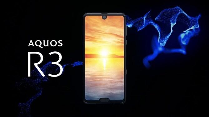 Sharp Aquos R3 z ekranem 120 Hz - co dwa notche, to nie jeden [1]