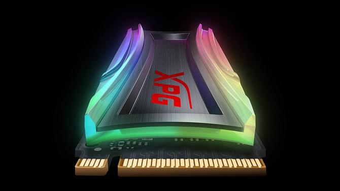 ADATA XPG SPECTRIX S40G – dysk SSD z programowalnym RGB LED [3]