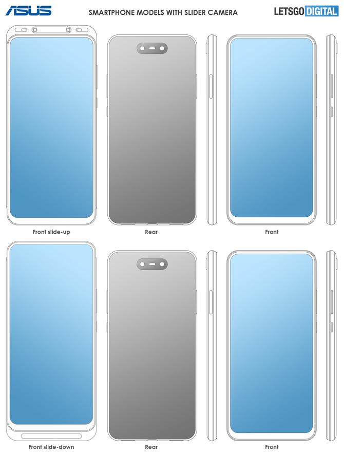 ASUS: smartfon-slider rozsuwany w dwie strony - w górę i w dół [4]