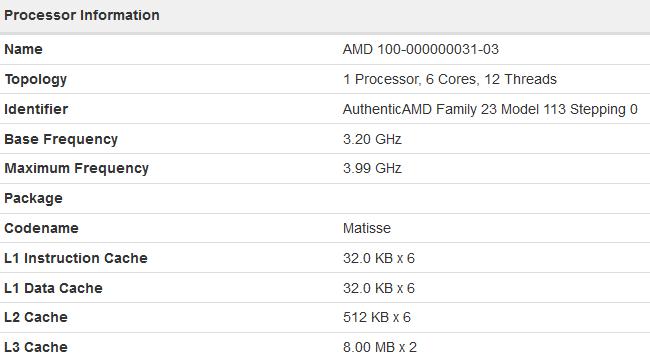 AMD Ryzen 3 3300 wydajniejszy od droższego układu Ryzen 7 2700X [2]
