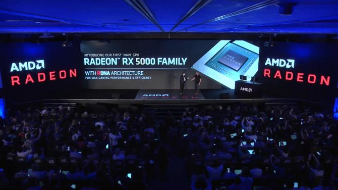 AMD Radeon RX 5000/RX 5700 - pierwsza zapowiedź 7 nm kart NAVI [2]