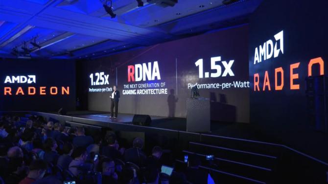 AMD Radeon RX 5000/RX 5700 - pierwsza zapowiedź 7 nm kart NAVI [4]