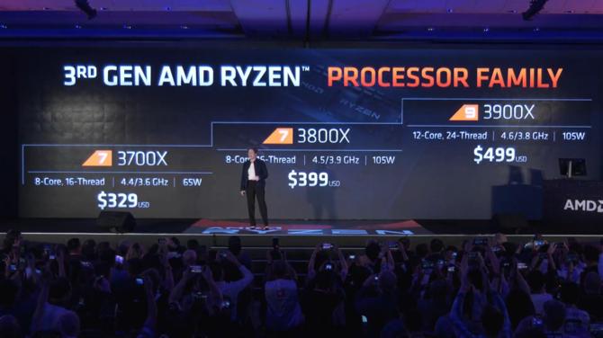 AMD Ryzen 9 3900X oficjalnie - 12 rdzeni i 24 wątki w cenie 499 USD [11]