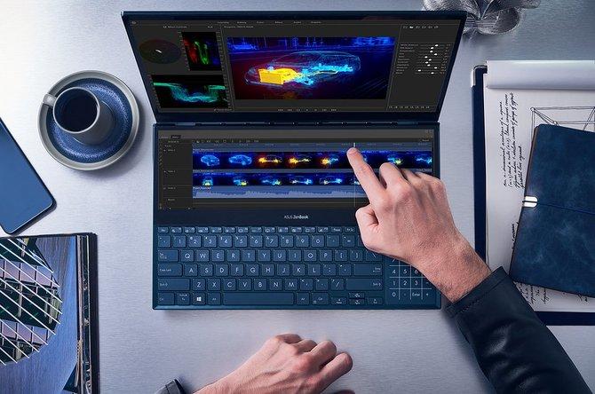 ASUS Zenbook Pro Duo - unikalny laptop z dwoma ekranami 4K [1]