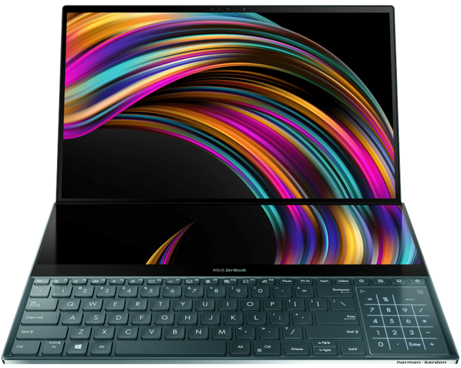 ASUS Zenbook Pro Duo - unikalny laptop z dwoma ekranami 4K [2]