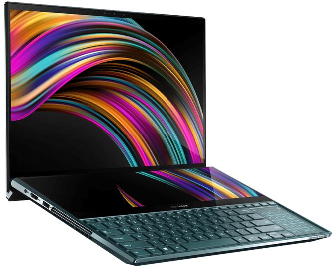 ASUS Zenbook Pro Duo - unikalny laptop z dwoma ekranami 4K [3]