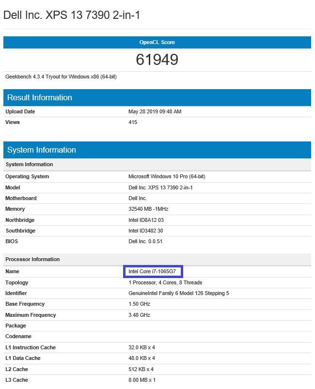 Dell XPS 13 7390 - prezentacja laptopa z procesorami Intel Ice Lake [4]