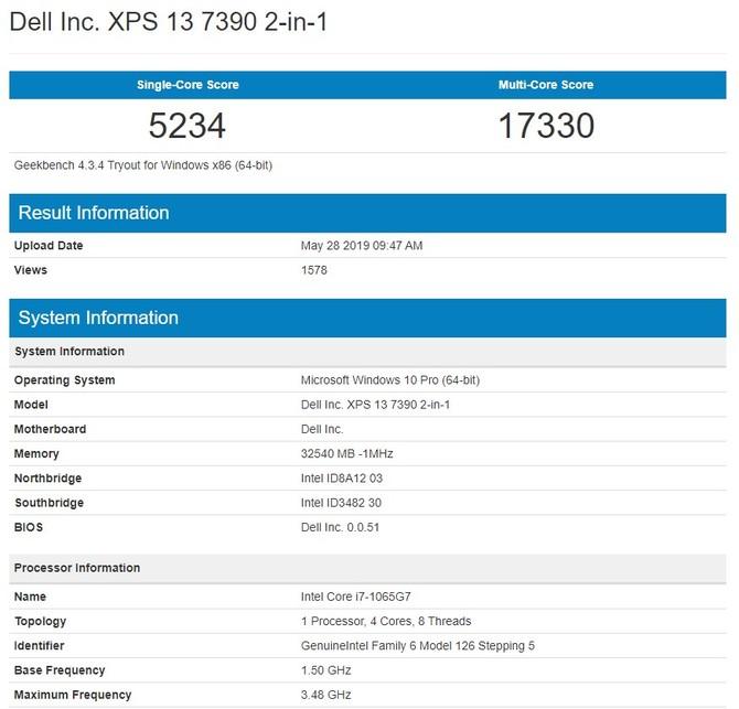 Dell XPS 13 7390 - prezentacja laptopa z procesorami Intel Ice Lake [6]