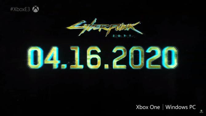 Cyberpunk 2077 - nowy trailer, zapowiedź oraz data premiery gry [6]
