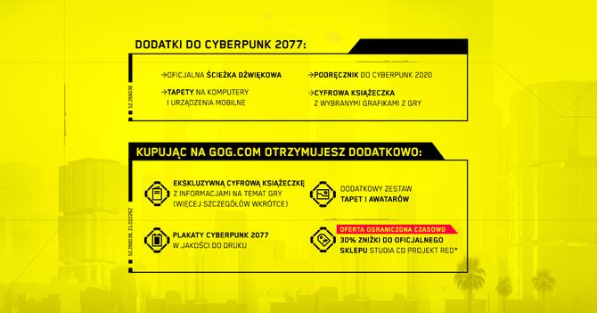 Cyberpunk 2077 - GOG oferuje edycję specjalną i pakiet z Wiedźminem [2]