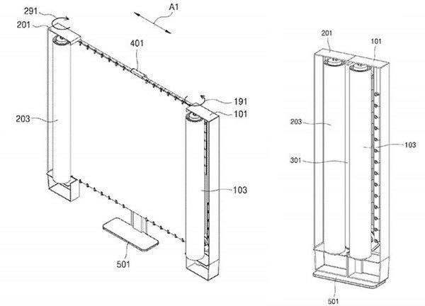 Samsung pracuje nad smartfonami z rozwijanym ekranem [1]