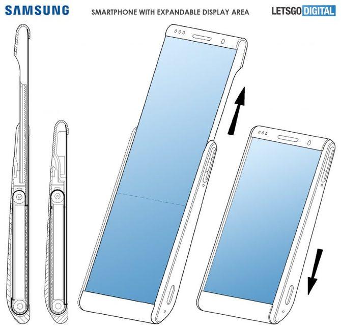 Samsung pracuje nad smartfonami z rozwijanym ekranem [3]