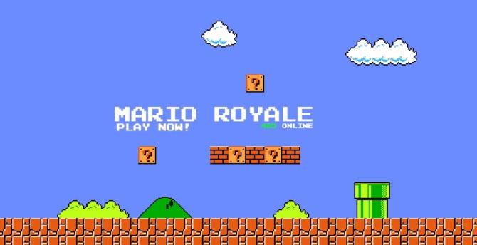 Super Mario Bros Battle Royale na przeglądarkę internetową [1]
