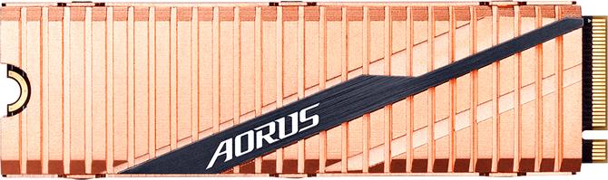Gigabyte AORUS NVMe - SSD PCIe 4.0 z miedzianym radiatorem  [2]