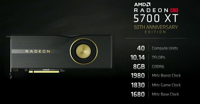 AMD Radeon RX 5700 XT 50th AE ma być dostępny globalnie [2]