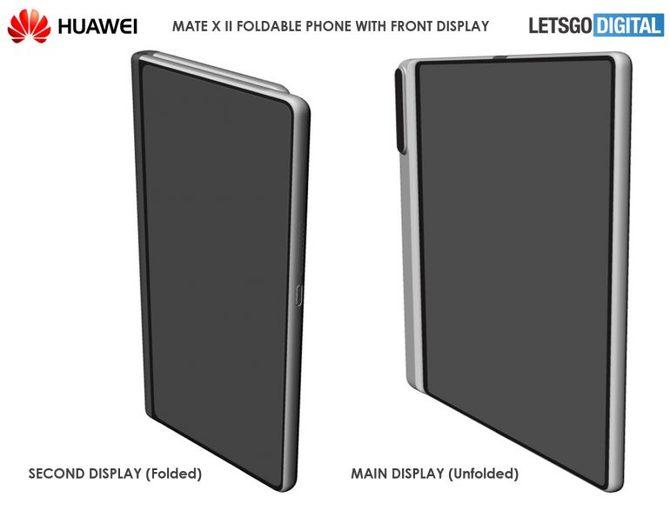 Huawei Mate X 2 - patent na kolejny składany smartfon [2]