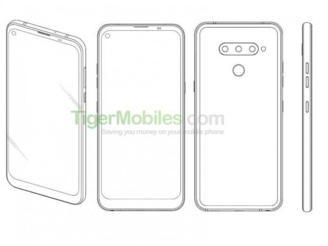 LG także przygotowuje smartfona z otworem w ekranie [3]