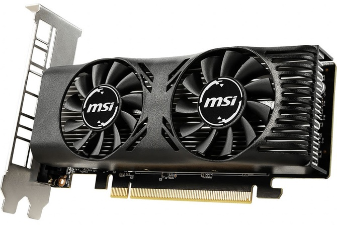 MSI GeForce GTX 1650 4GT LP - nowy niskoprofilowy Turing [1]