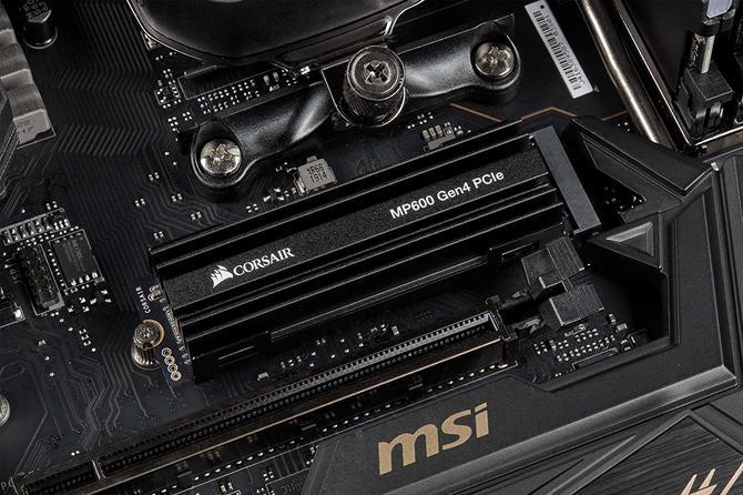 Corsair MP600 SSD z NVMe PCIe 4.0 - znamy ceny [2]