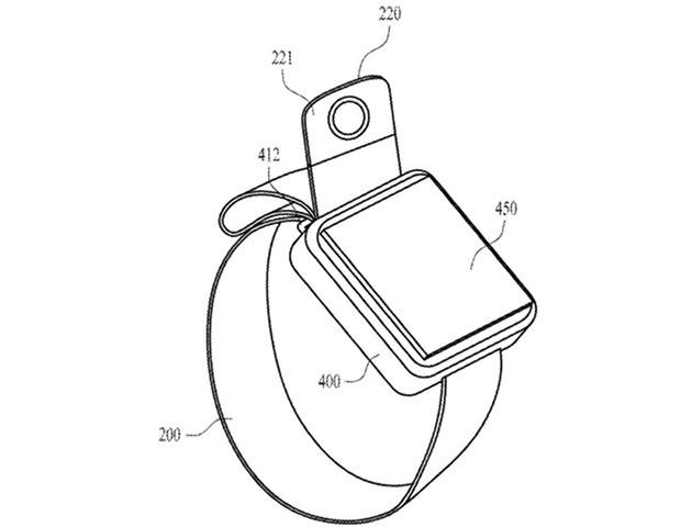 Apple - nowy smartwatch z kamerką na wysuwanym module [1]