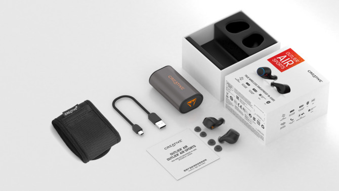 Creative Outlier Air Sports - słuchawki Bluetooth nie tylko do sportu [3]