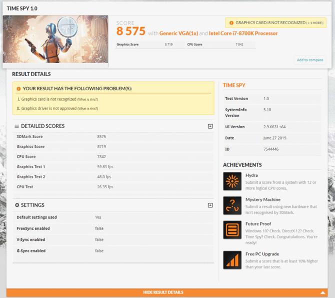 AMD Radeon RX 5700 XT - pierwsze wyniki karty w 3DMark [2]