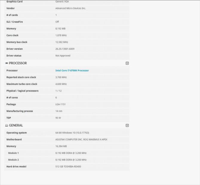 AMD Radeon RX 5700 XT - pierwsze wyniki karty w 3DMark [3]