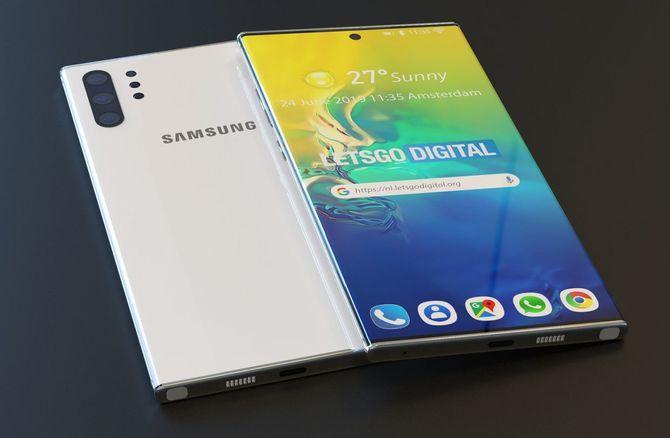 Premiera Samsung Galaxy Note 10 i Note 10+ już 7 sierpnia 2019 [1]