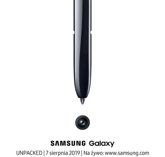 Premiera Samsung Galaxy Note 10 i Note 10+ już 7 sierpnia 2019 [2]