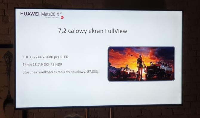 Huawei Mate 20X 5G - premiera nowego smartfona 5G w Polsce [9]