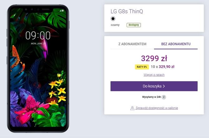 LG G8s ThinQ - nowy flagowiec Koreańczyków trafia do Polski [1]