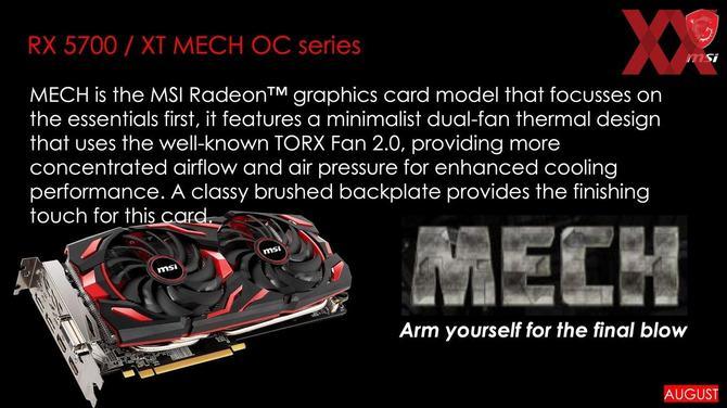 MSI szykuje karty Radeon RX 5700 i RX 5700 XT serii EVOKE [2]
