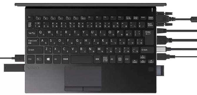 VAIO zaprezentowało 12-calowego laptopa z dużą ilością portów I/O [1]