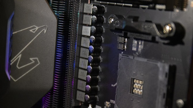 Rzut oka na układy chłodzenia na płytach głównych X570  [1]