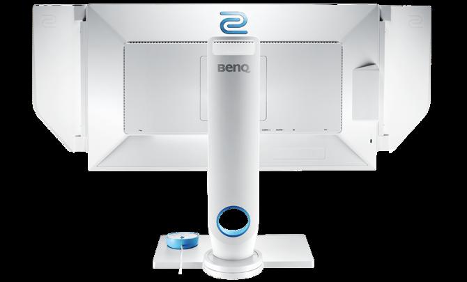 Białe e-sportowe monitory Zowie XL2546 Divina Pink i Blue [3]
