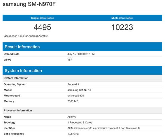 Samsung Galaxy Note 10 z nowym Exynosem 9825 na pokładzie? [2]