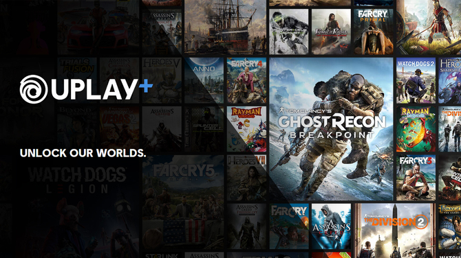 Znamy listę ponad 100 gier Ubisoftu na start abonamentu Uplay+ [1]