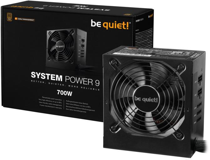 be quiet! System Power 9 CM - Niedrogie modularne zasilacze [1]