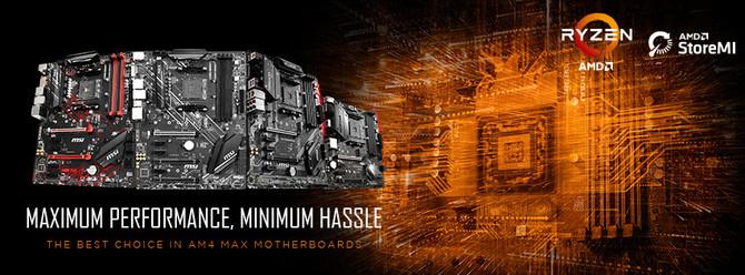 MSI prezentuje płyty główne z serii Max dla chipów AMD Ryzen [1]