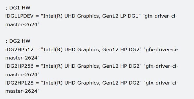 Intel szykuje przynajmniej cztery modele kart graficznych [2]