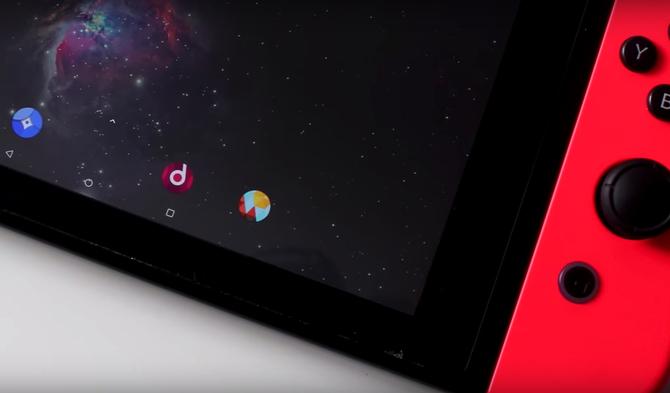 Konsola Nintendo Switch pozwala na uruchomienie Androida [1]