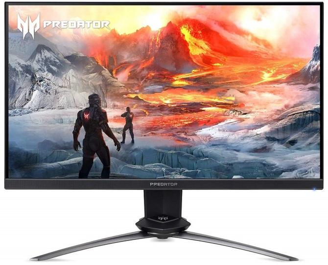 Acer Predator XN253Q X - monitor TN z czasem reakcji 0,4 ms [3]