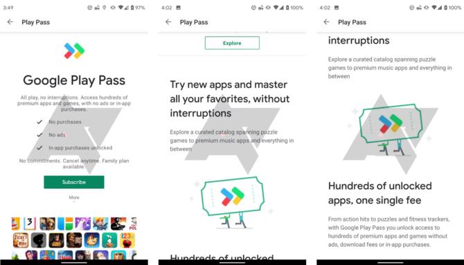 Google Play Pass - setki gier i aplikacji w abonamencie sklepu Play [2]